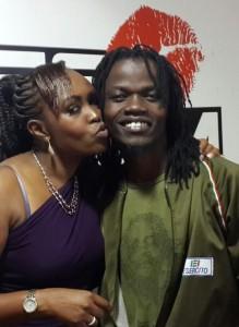 Mutoko kissing Juliani